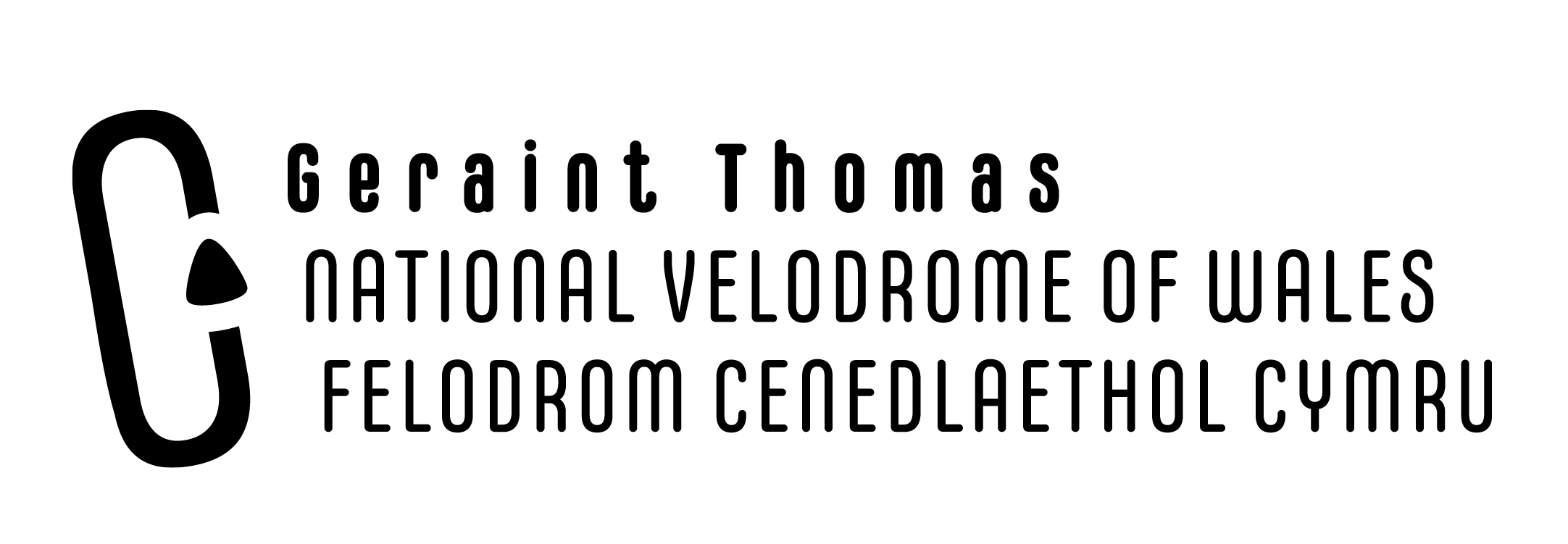 Geraint Thomas National Velodrome of Wales logo